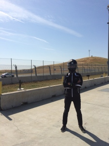 I'm like The Stig from Top Gear (if The Stig were Asian and lost 93% of his driving abilities).
