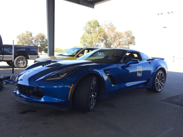 Hey, who brought the new Corvette?